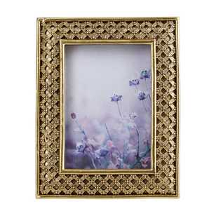 Ombre Home Winter Luxe Gold Frame