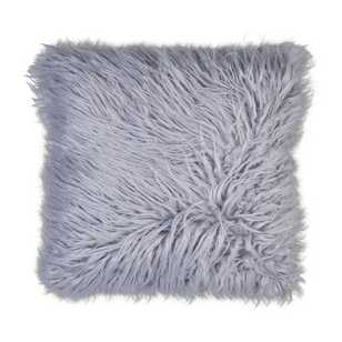 Ombre Home Winter Luxe Faux Fur Cushion