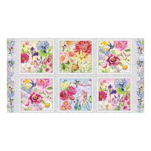 Studio E My Butterfly Garden Blocks Panel