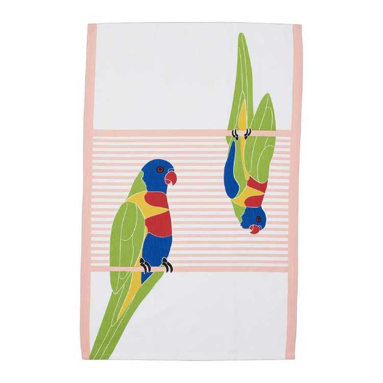 Dine By Ladelle Rosella Tea Towel