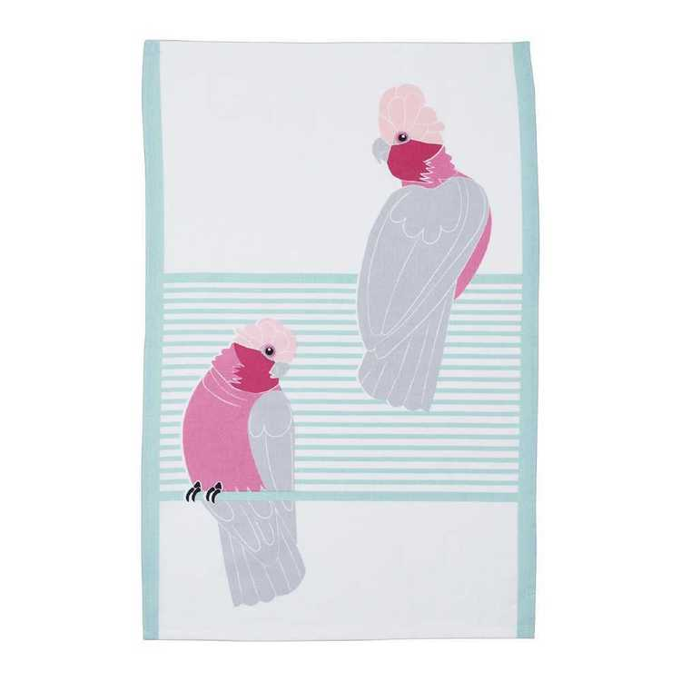 Dine By Ladelle Galah Tea Towel