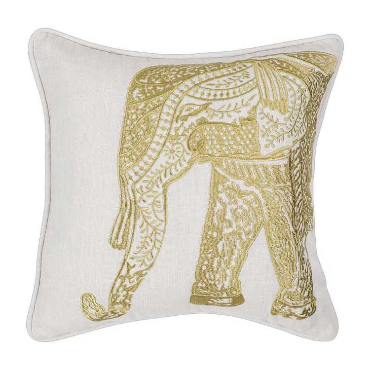 KOO Home Amala Elephant Cushion