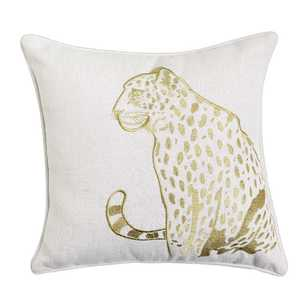 KOO Home Leopard Cushion