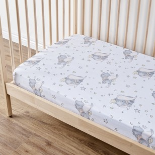 Dumbo Nursery Fitted Sheet 2 Pack
