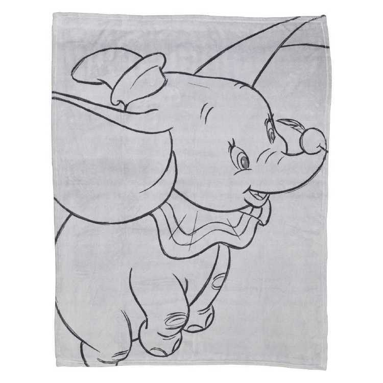 Dumbo Nursery Throw