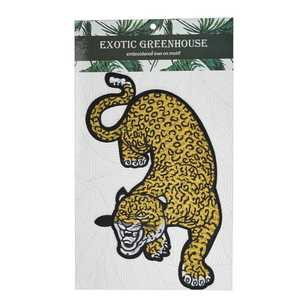 Exotic Greenhouse Large Leopard Iron On Motif