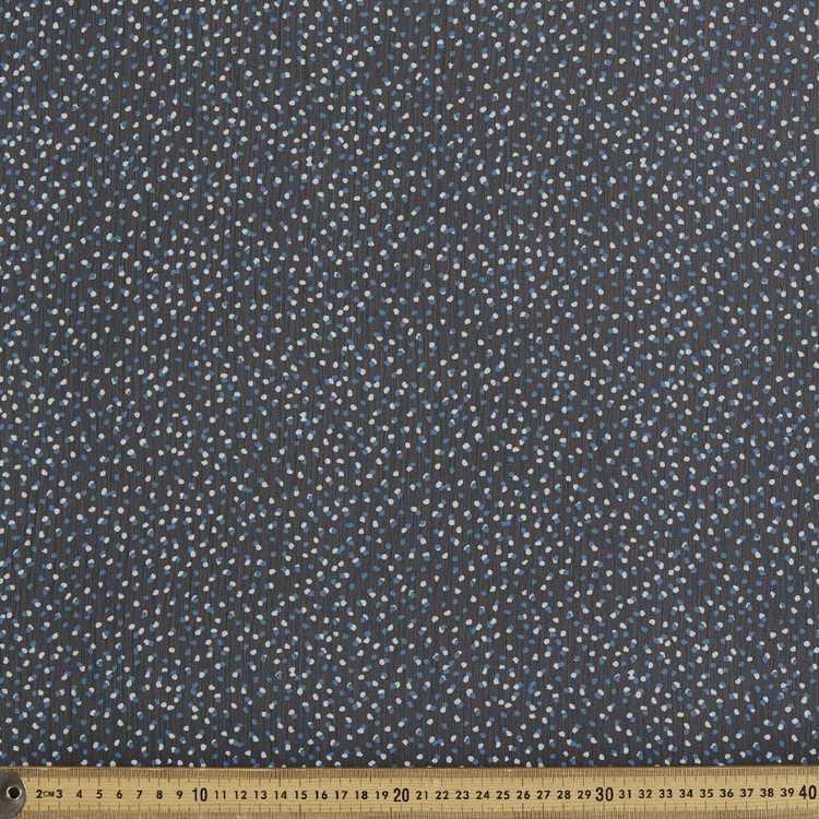 Spots Printed 148 cm Chiffon Yoryu Fabric