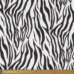 Zebra Printed 148 cm Satin Group 2 Fabric