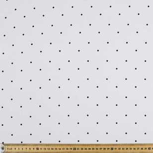 Spots Printed 148 cm Polyester Crepe Fabric