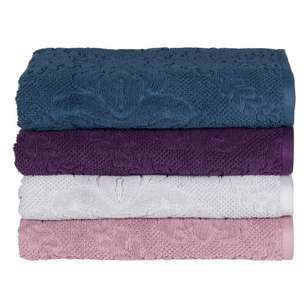 KOO Rosey Jacquard Towel Collection