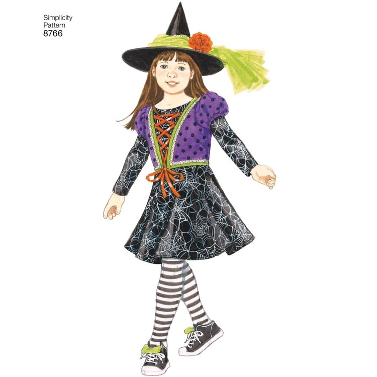 Simplicity Pattern 8766 Children S Costumes