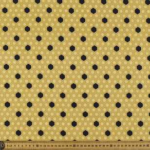 Studio E Bee A Keeper Honeycomb Cotton Fabric