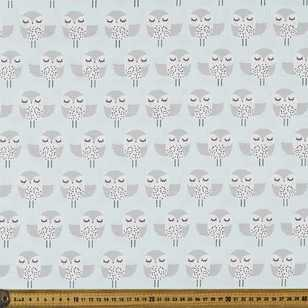 Owl the Way Printed 112 cm Poplin Fabric