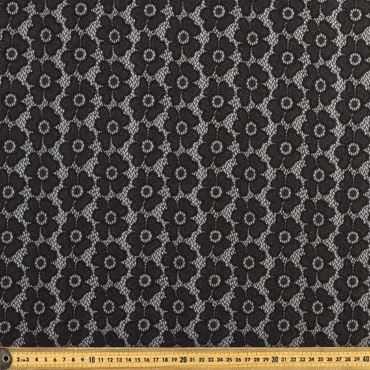 Plain Pansy Lace Fabric