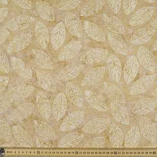Indonesian Batik Leaves Fabric