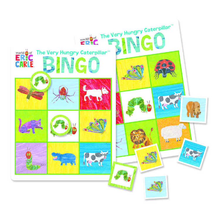 The World Of Eric Carle Bingo & Matching Tinned Game