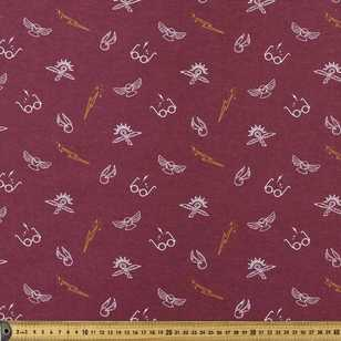 Harry Potter Allover Flannelette Fabric