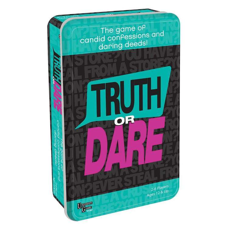University Games Truth Or Dare Tinned Game