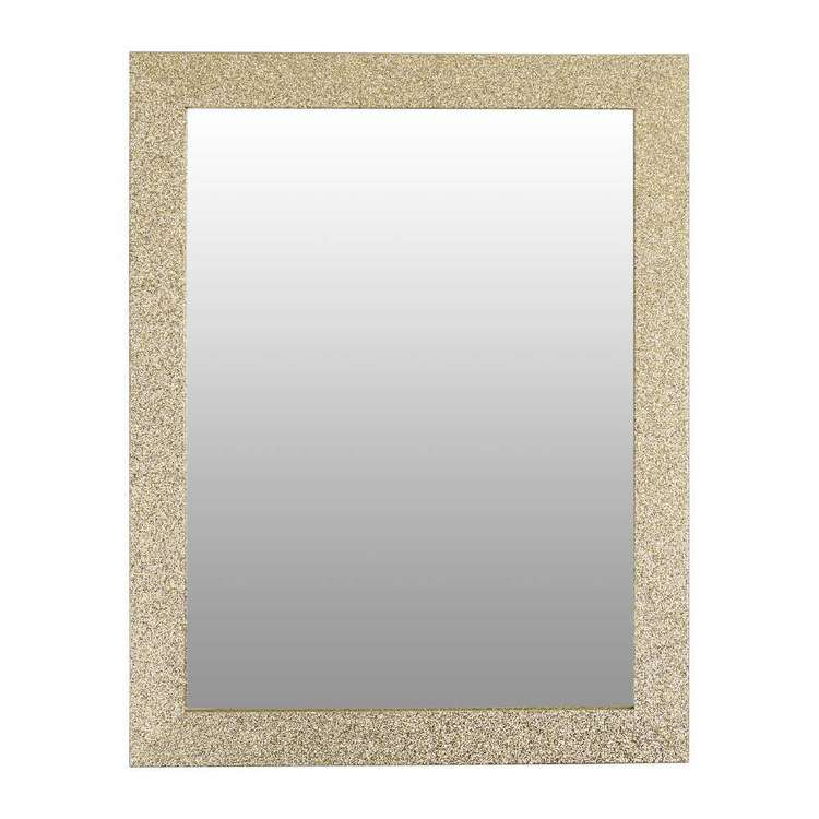 Living Space Glitter Mirror