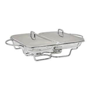 Saute Large Twin Chafing Set