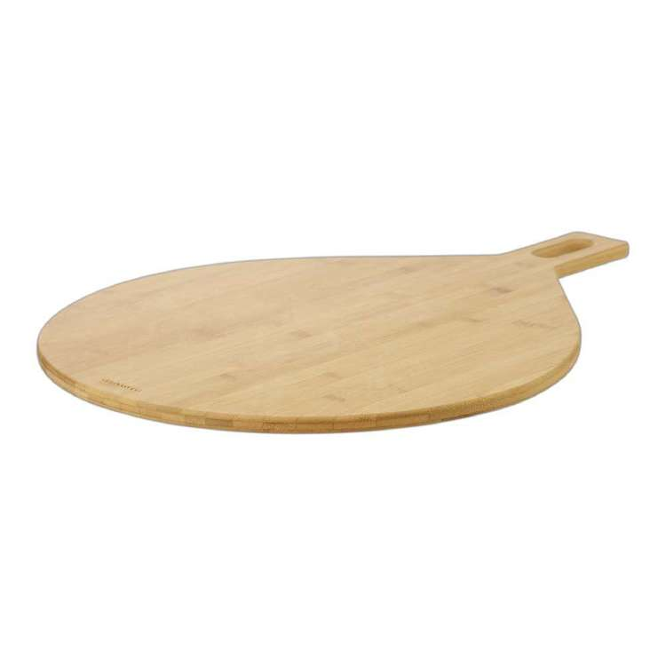 Culinary Co Round Bamboo Board Bamboo 67 x 50 cm