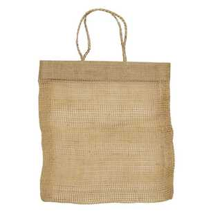 Lock Stock & Barrel Jute Shopping Bag