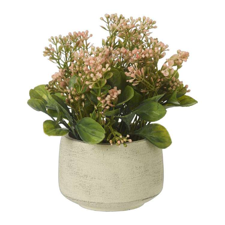 Living Space Floral Babysbreath Pot