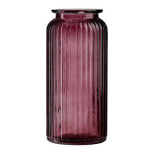 Ombre Home Winter Luxe Glass Vase
