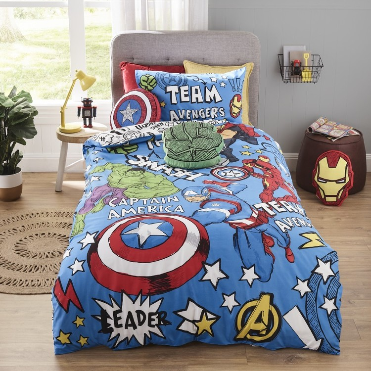 Team Avengers Quilt Cover Set
