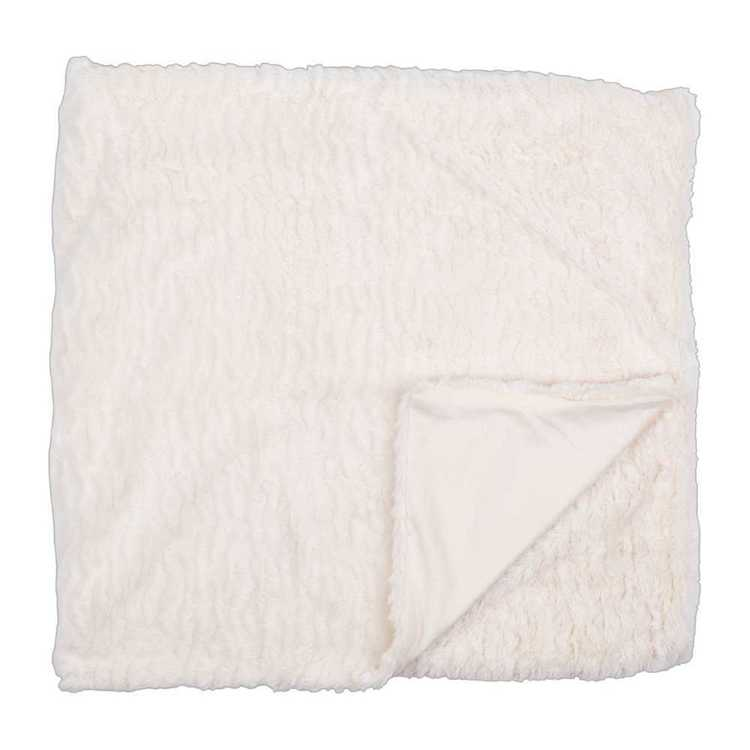Koo Home Talia Faux Fur Throw