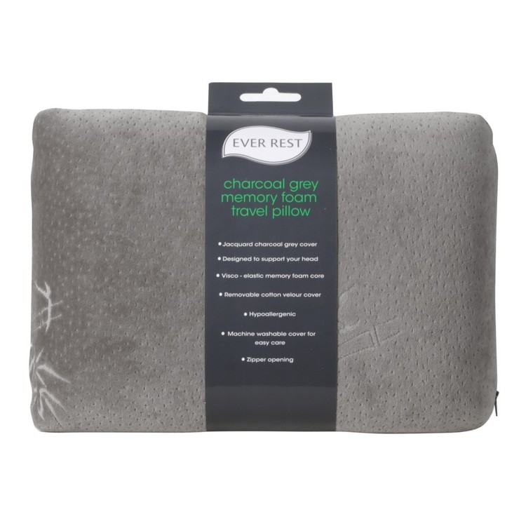 Ever Rest Memory Foam Standard Travel Pillow