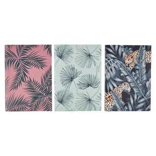 Francheville Exotic Greenhouse Foliage A5 Notebook 3 Pack