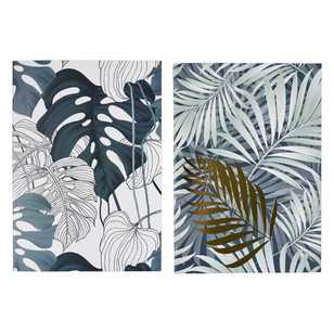 Francheville Exotic Greenhouse Foliage A4 Notebook 2 Pack
