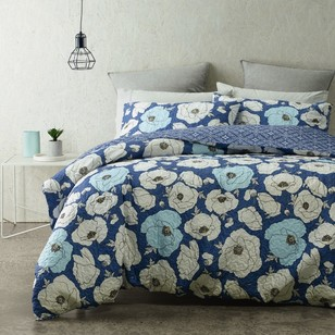 Phase 2 Floriat Quilted Quilt Cover Set