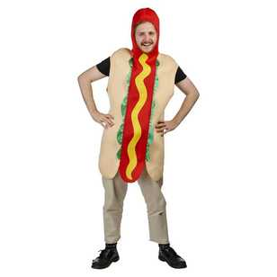 Sparty's Adults Hot Dog Costume
