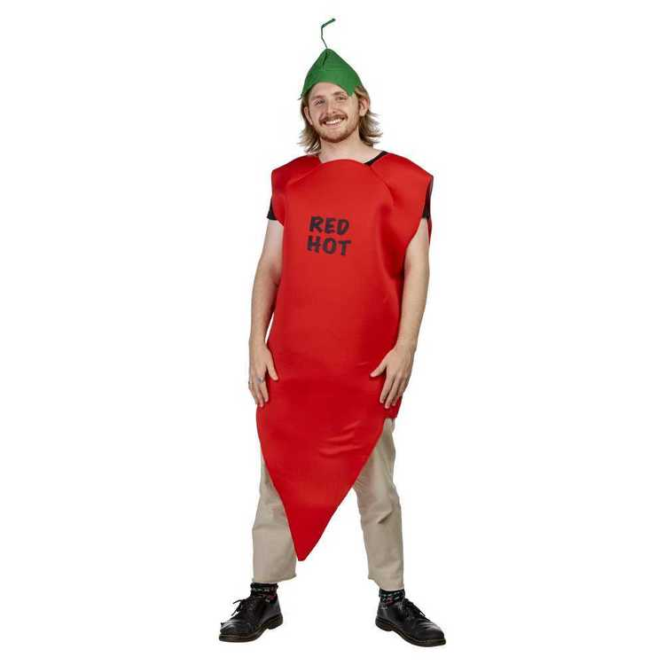 Sparty's Adults Chilli Costume