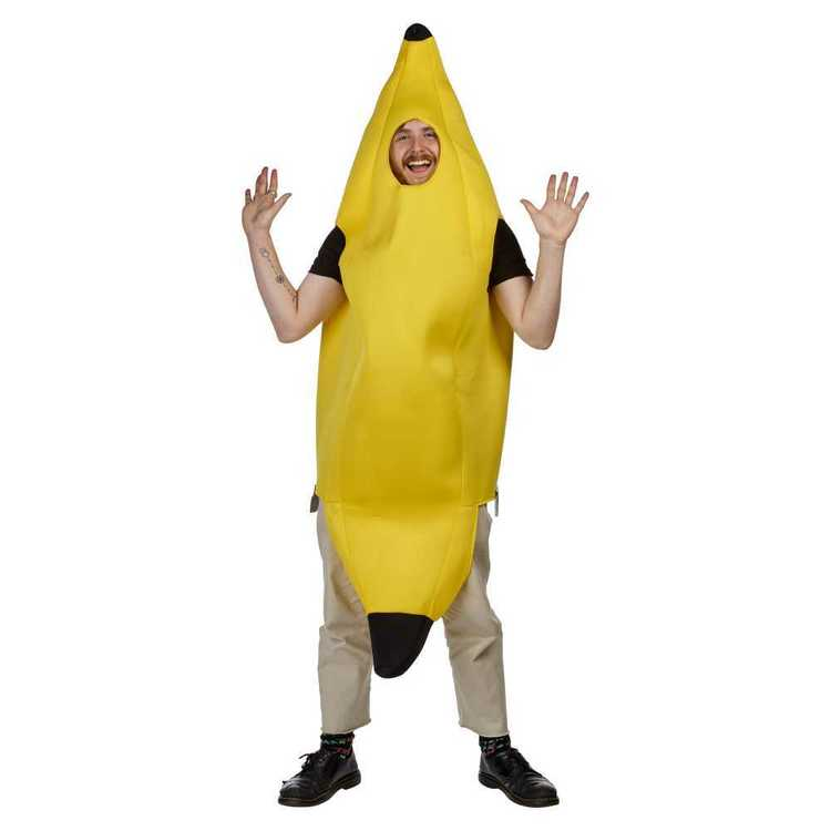Sparty's Adults Banana Costume