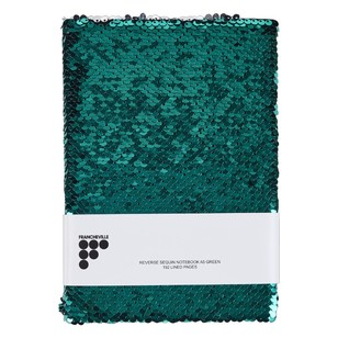 Francheville Exotic Greenhouse Sequin A5 Notebook