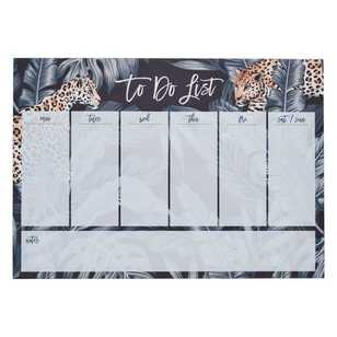 Francheville Exotic Greenhouse Leopard Weekly Planner
