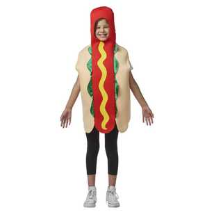 Sparty's Kids Hot Dog Costume