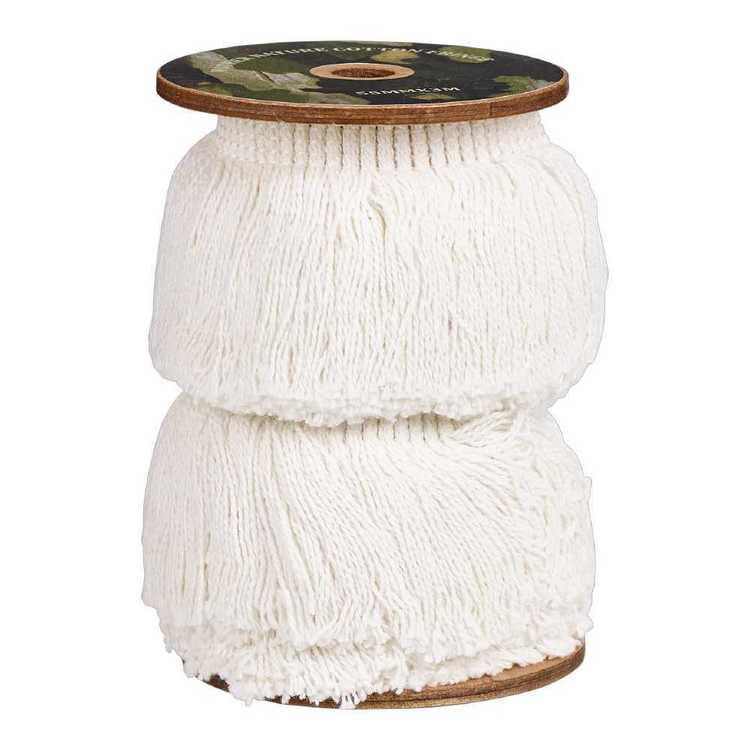 Mother Nature Cotton Fringe Roll