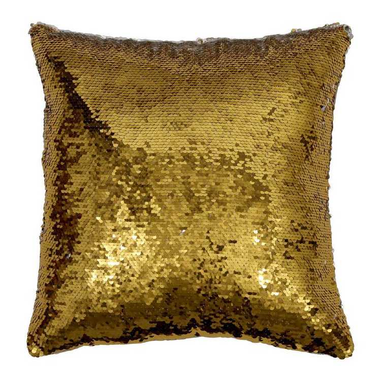 Kids House Sequin Cushion
