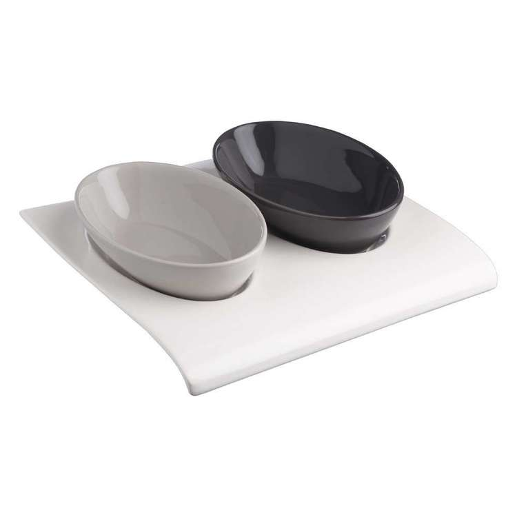 Culinary Co 3 Piece Oval Bowl Serving Set