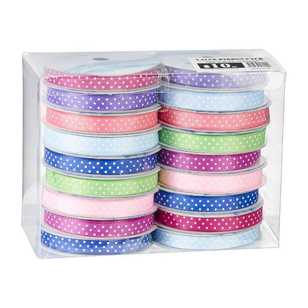 Spot Printed Ribbon 18 Pack