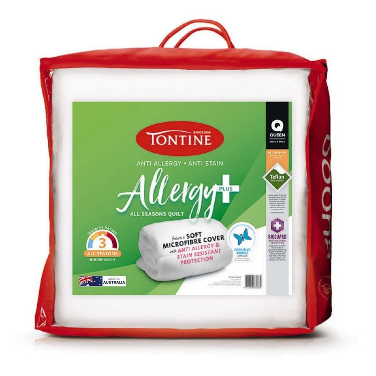 Tontine Allergy Plus Quilt White