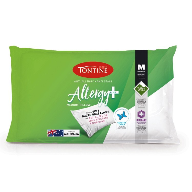 Tontine Allergy Plus Medium Pillow