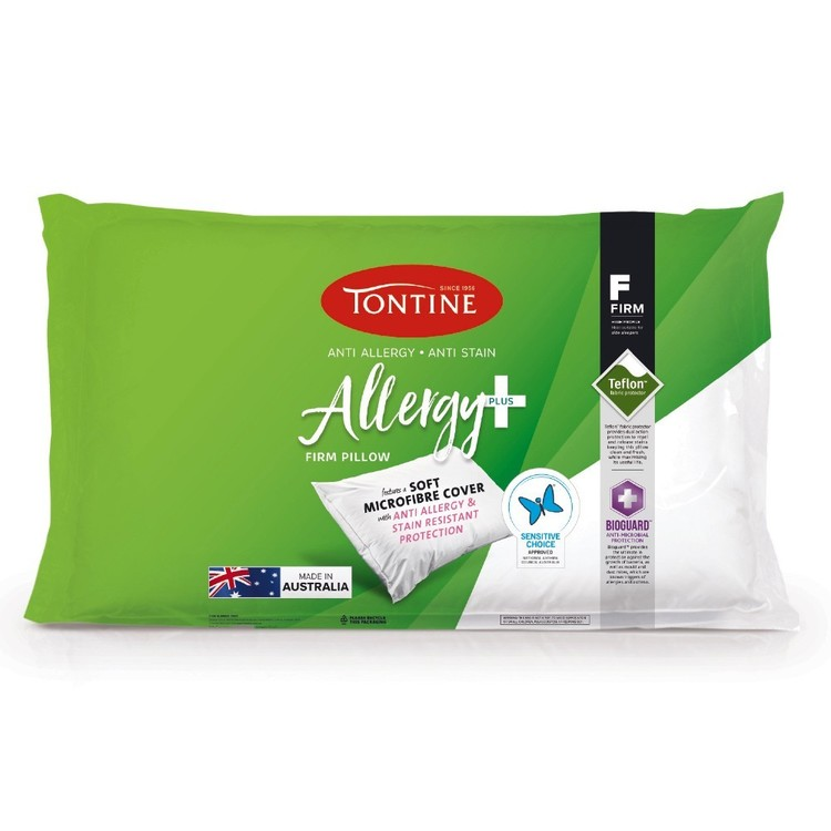 Tontine Allergy Plus Firm Pillow