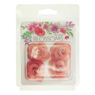 Ribtex Rose Flower 4 Pack