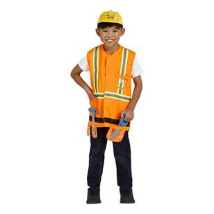 Spartys Builder Kids Costume