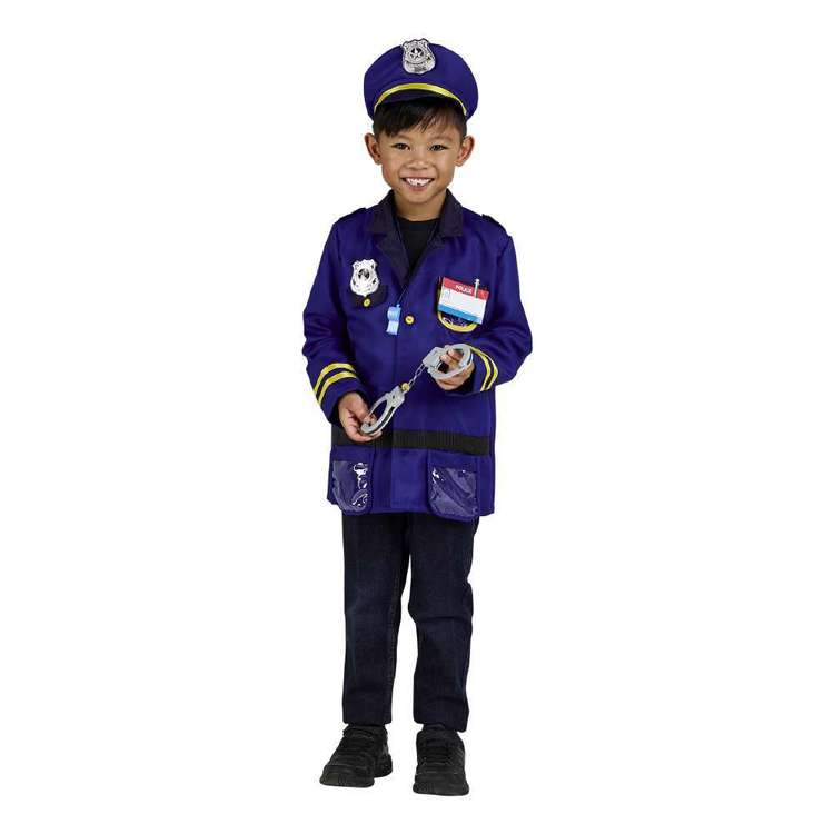 Spartys Police Kids Costume